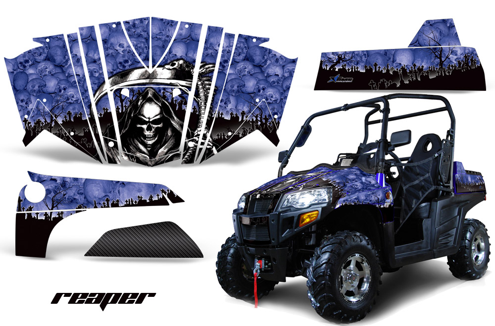 Bennche Spire 800 Side x Side UTV Graphic decal Kit for Bennche