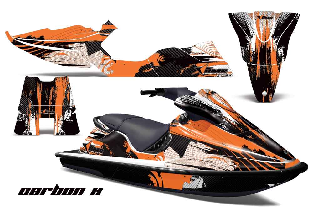 large_329_SeaDooXP_94 96_Graphics_Kit_Carbonx_O sea doo xp jet ski graphic wrap decal kit 1994 1996 seadoo deal kits