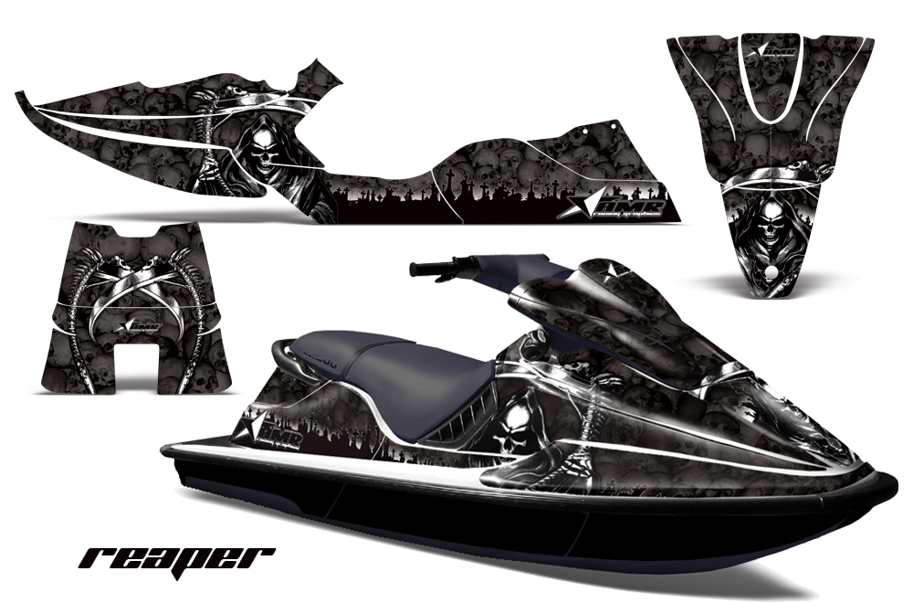 Sea Doo Xp Bombardier Sitdown Jet Ski Graphic Wrap Kit 1994 1996 329 on yamaha golf cart graphics