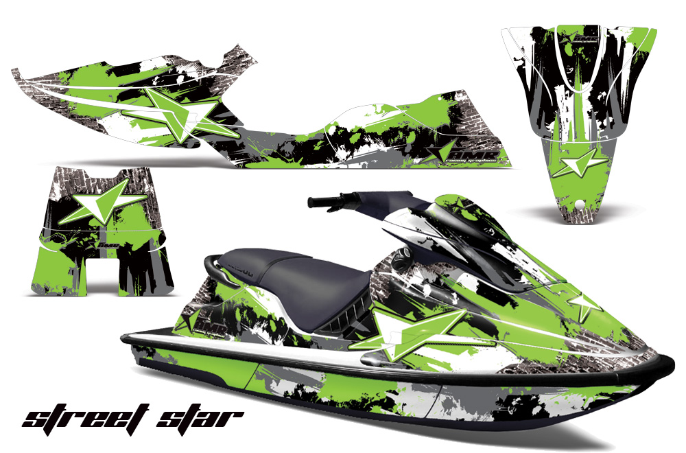sea doo xp jet ski graphic wrap decal kit 1994 1996 seadoo deal kits rh amrracing com