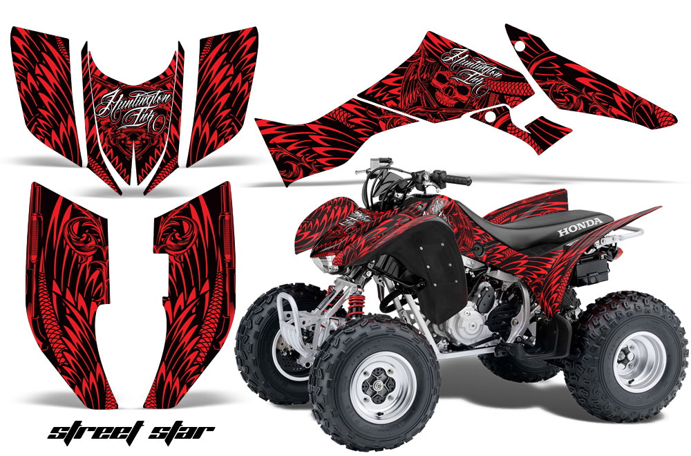 Honda Trx300ex Atv Quad Graphic Kit 300ex 2007 2013