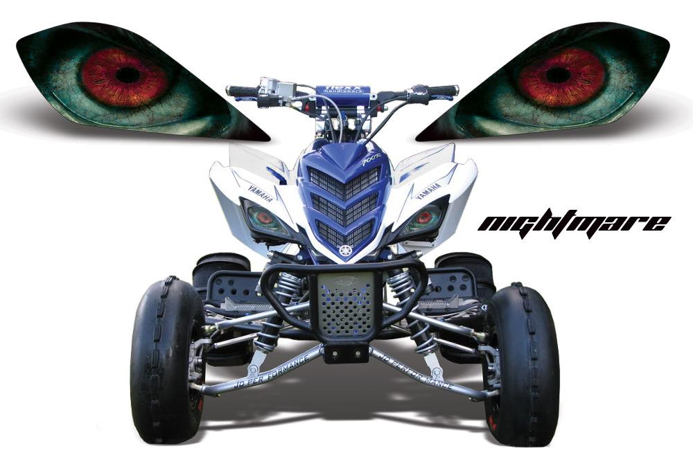 Yamaha Raptor  With Headlight Graphic Kit