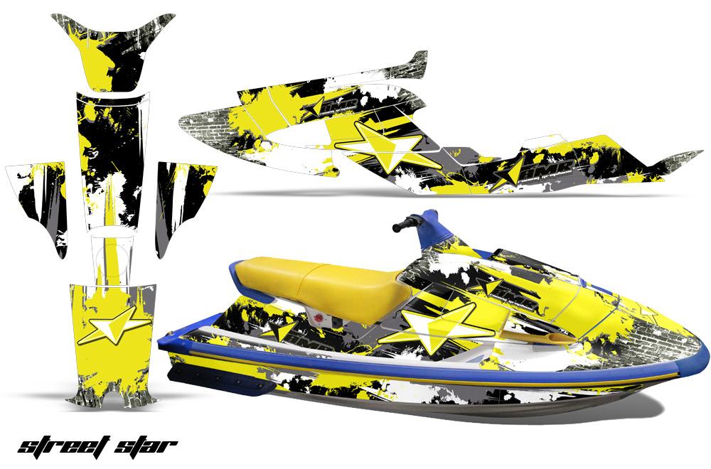Yamaha Wave Raider Jet Ski Graphic Wrap Kit 1994-1996