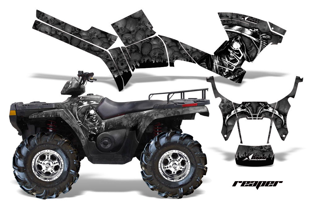 2005 2010 sportsman 800 500 graphics by amr racing. Black Bedroom Furniture Sets. Home Design Ideas