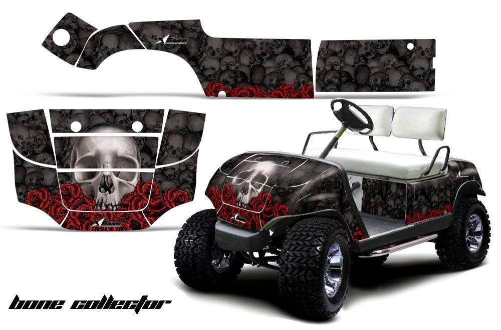 Custom yamaha golf cart graphics wrap kits in over 40 for Yamaha golf cart repair near me