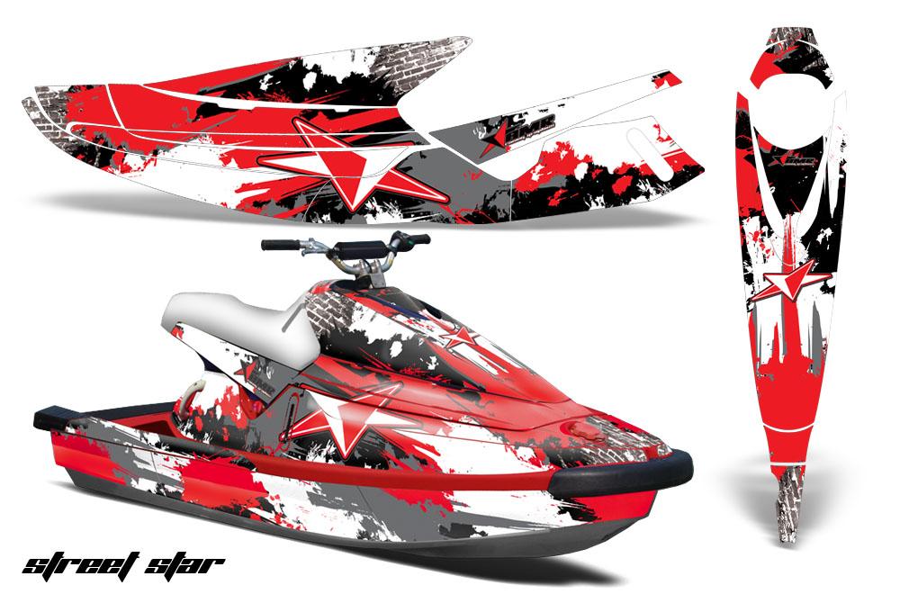 Yamaha Wave Blaster Jet Ski Graphic Wrap Kit 1993-1996