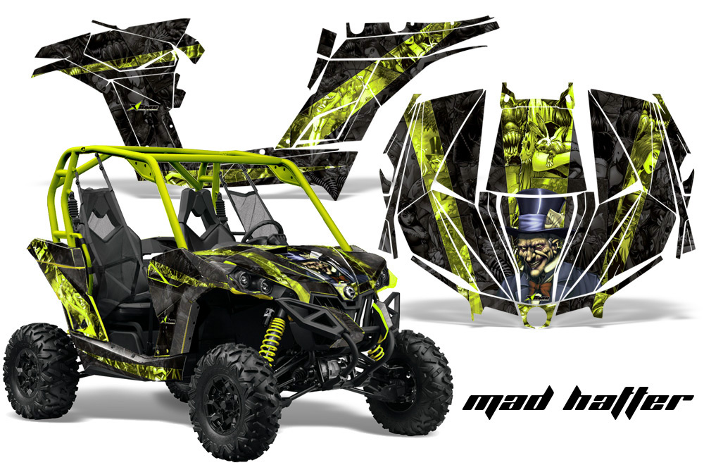 Can Am Brp Maverick 1000 X Rs 1000r Utv Graphic Kit 2013 2016 379 on yamaha golf cart graphics
