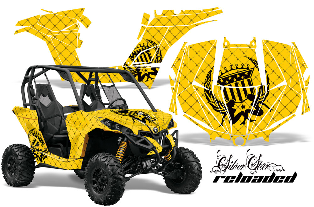 Can-Am BRP Maverick 1000 X rs 1000r UTV Graphic Kit - 2013-2016