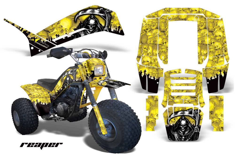 yamaha shaft dx225 amr racing graphics are the toughest ... three wheeler electrical diagram