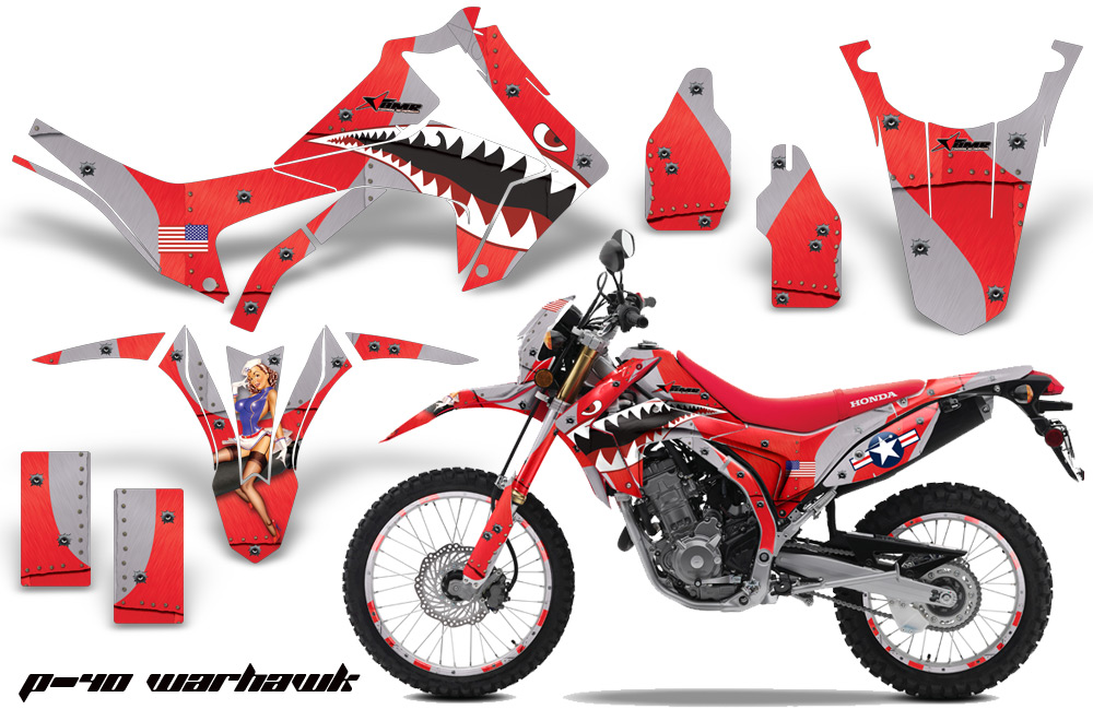 Honda Crf250l Enduro Graphic Stickers And Decals Honda