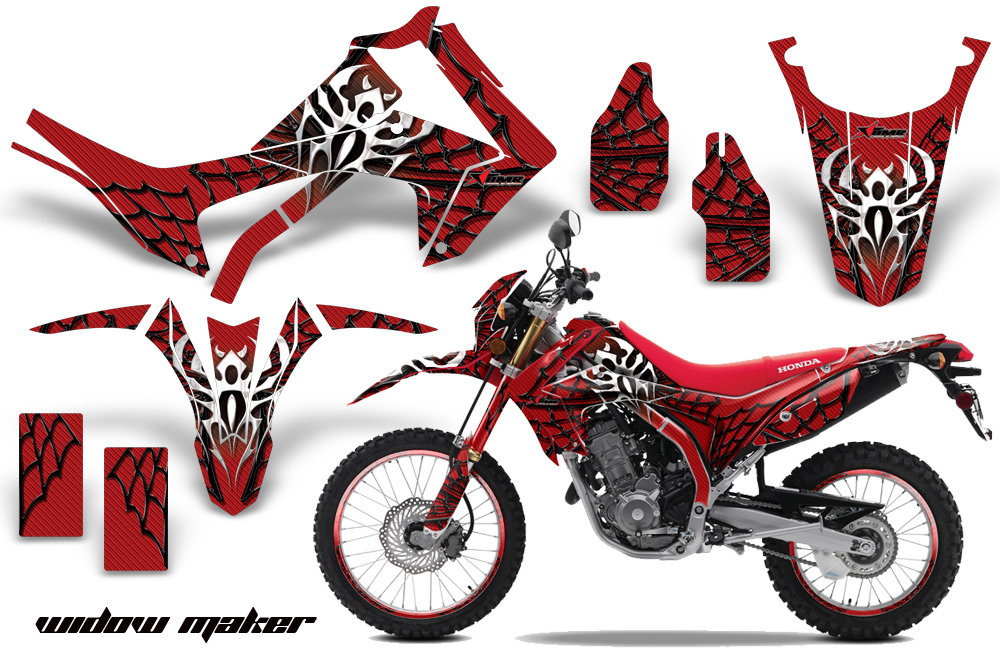Honda crf250l enduro graphic stickers and decals honda crf250l enduro graphics