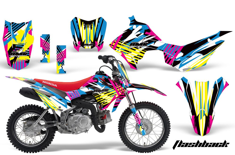 Honda Crf110 Graphic Kit Stickers And Decals Honda
