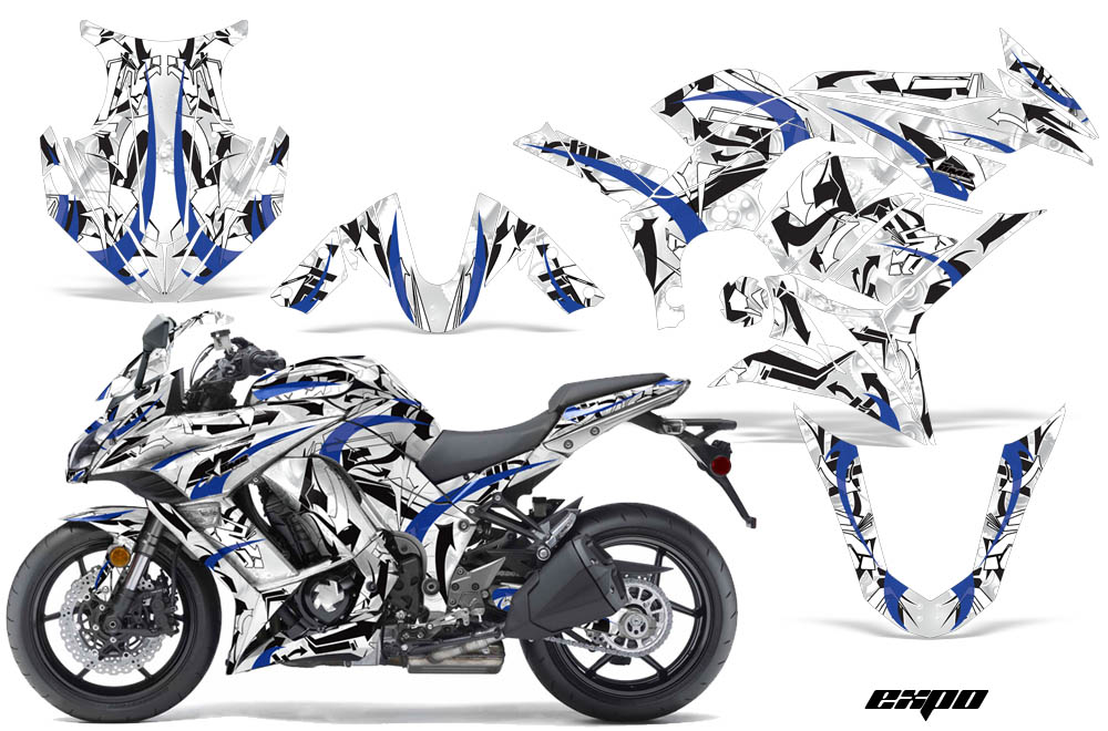 Kawasaki Zx1000 Ninja Sport Bike Graphic Kit 2010 2013