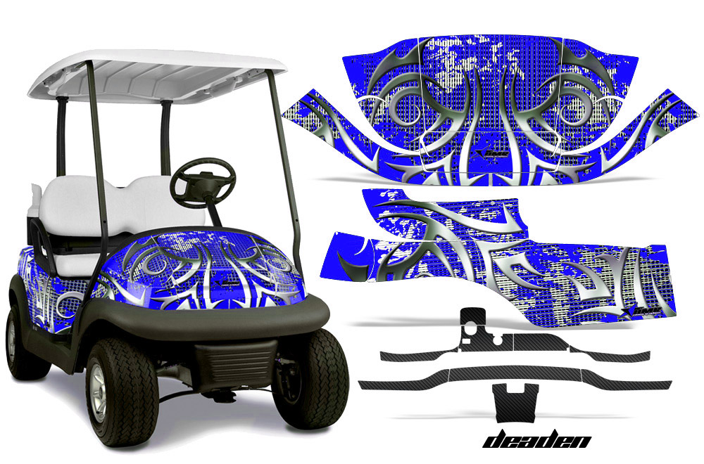 Club Car Precedent Golf Cart Graphics 2008 2013 Wrap Kits In Over