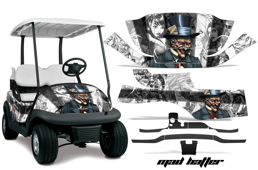 Club Car Golf Cart Precedent I2 Graphic Kit 2008 2013 389 on yamaha golf cart templates