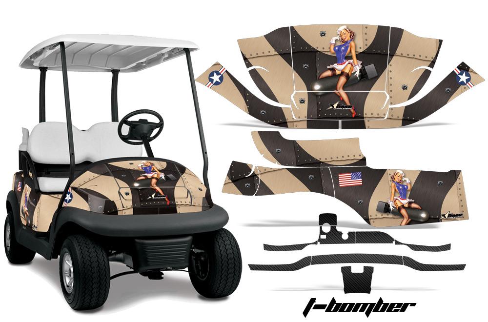 Club Car Precedent Golf Cart Graphics 2008 2013 Wrap Kits