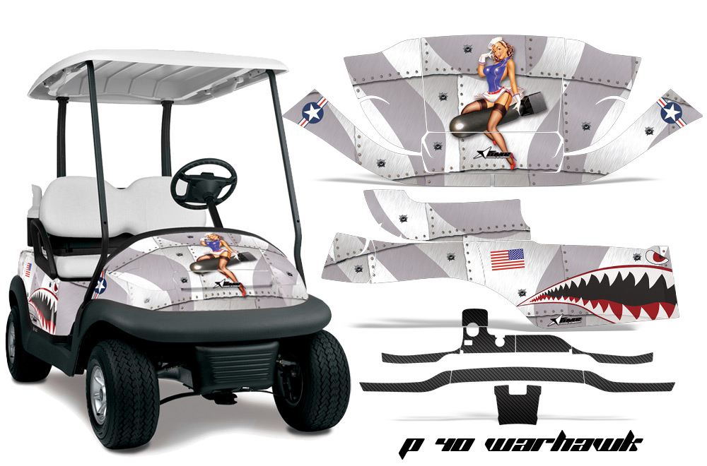 club car golf cart precedent i2 graphic kit 2008 2013
