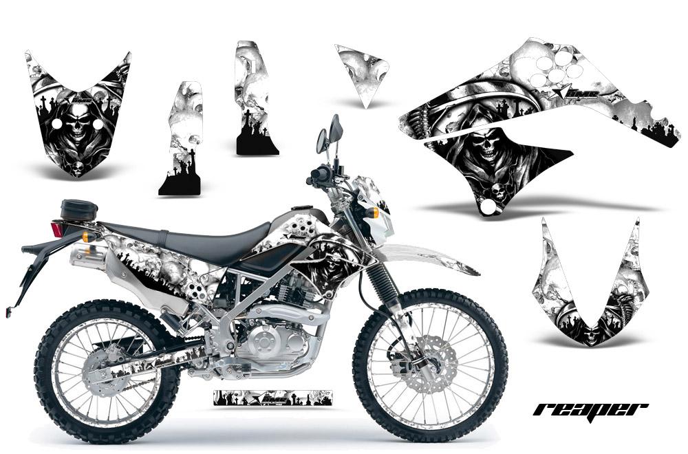 2010 2016 klx125 d tracker graphics kit kawasaki motocross graphic sticker decal kit kawasaki mx graphics for kx450f kx250 kx500 kx125 kx450
