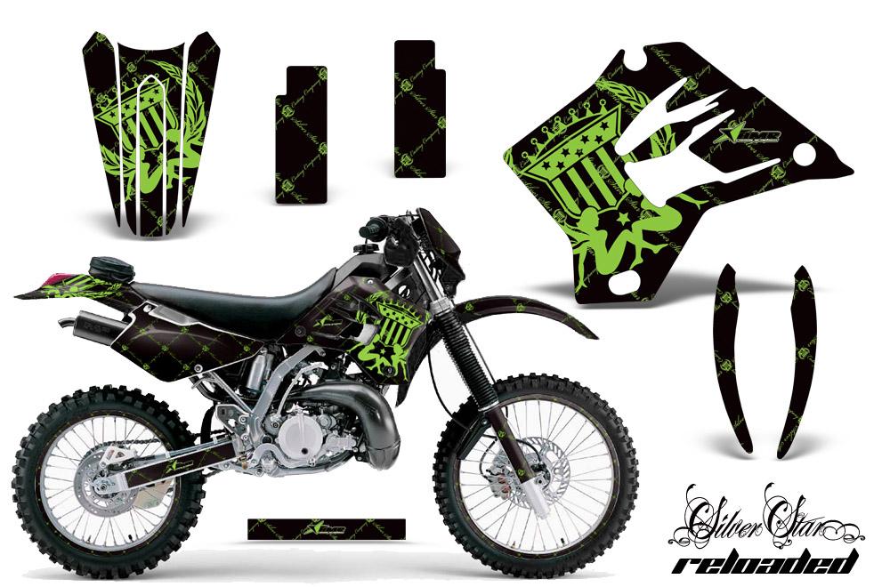 Kdx220 1997 2005 Graphics Kit Kawasaki Motocross Graphic Sticker