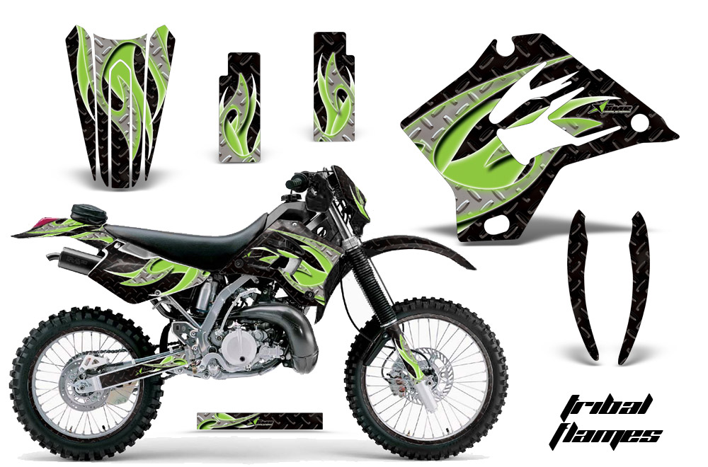 Kawasaki motocross graphic sticker decal kit kawasaki mx graphics for kx450f kx250 kx500 kx125 kx450