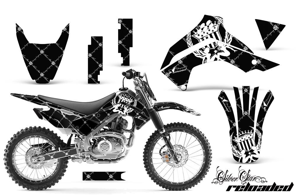 Kawasaki Motocross Dirt Bike Graphic Kit KLX140 - 2008-2018