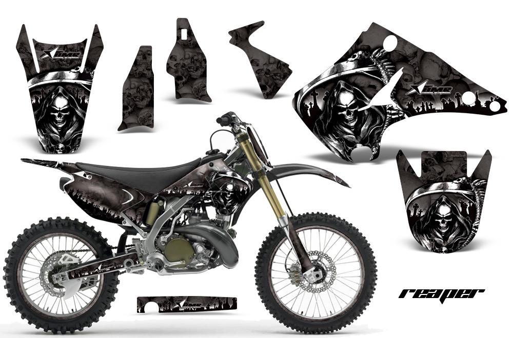 Graphics For Graphics For Kawasaki Dirt Bike Black Www - Decal graphics for dirt bikes