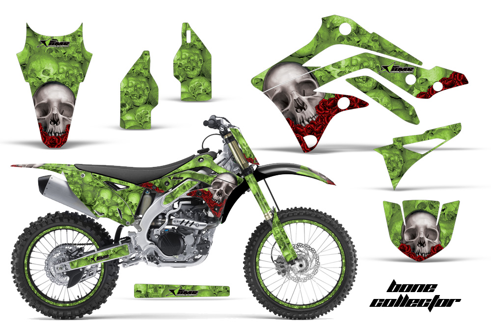 2012 2015 Kx450f Graphics Kit Kawasaki Motocross Graphic