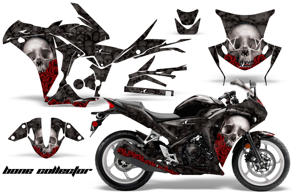 Honda Cbr250r Graphic Kit 2010 2013 Street Bike Graphic