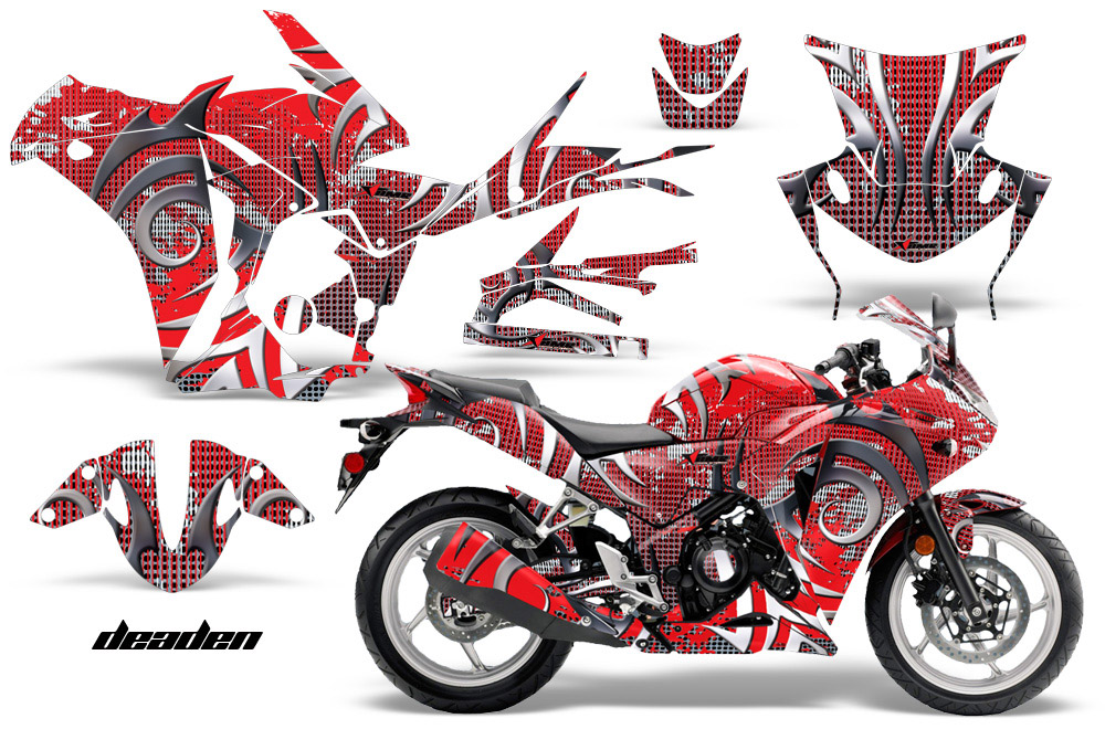Honda Cbr 250r Sport Bike Graphic Kit 2010 2013 412on Arctic Cat Atv Accessories