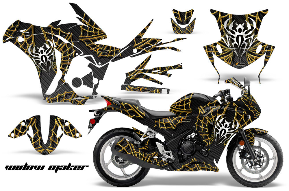 Honda CBRr Graphic Kit  Street Bike Graphic Decal - Decal graphics for motorcycles