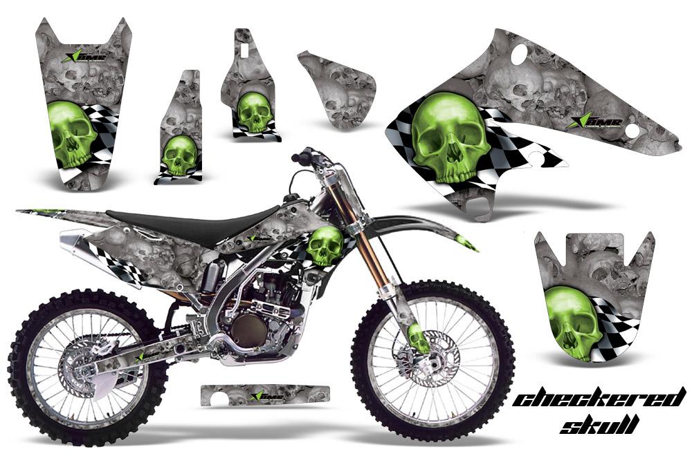2004 2005 Kx250f Graphics Kit Kawasaki 250 Motocross Graphic