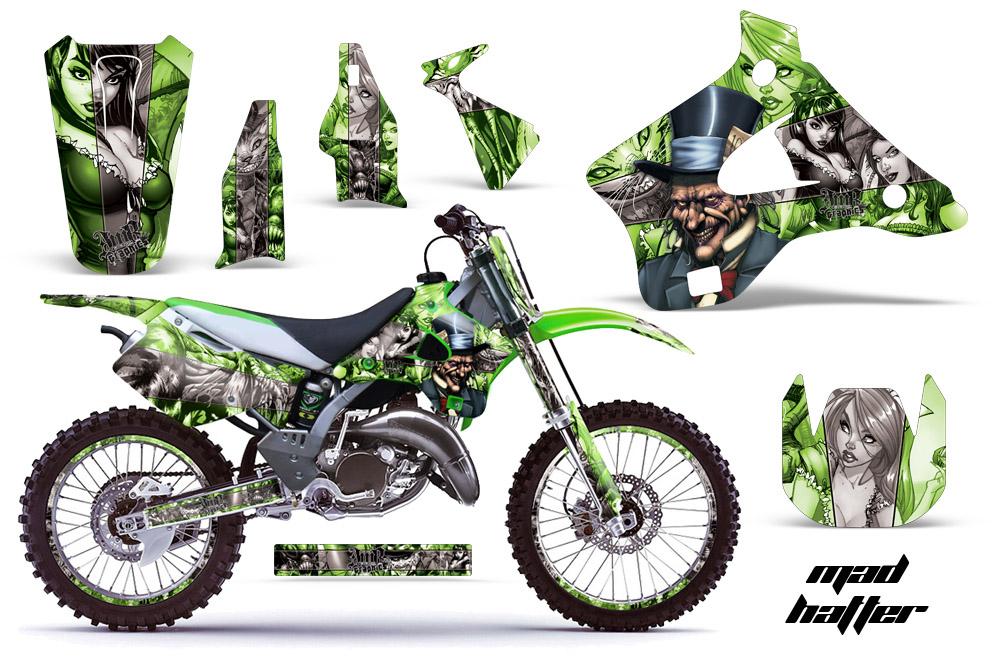 1994 1998 Kx125 Kx250 Graphics Kit Kawasaki Motocross Graphic