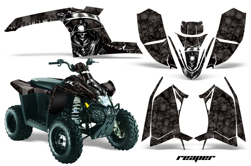 Polaris Scrambler Atv Quad Graphic Kit 2010 2012