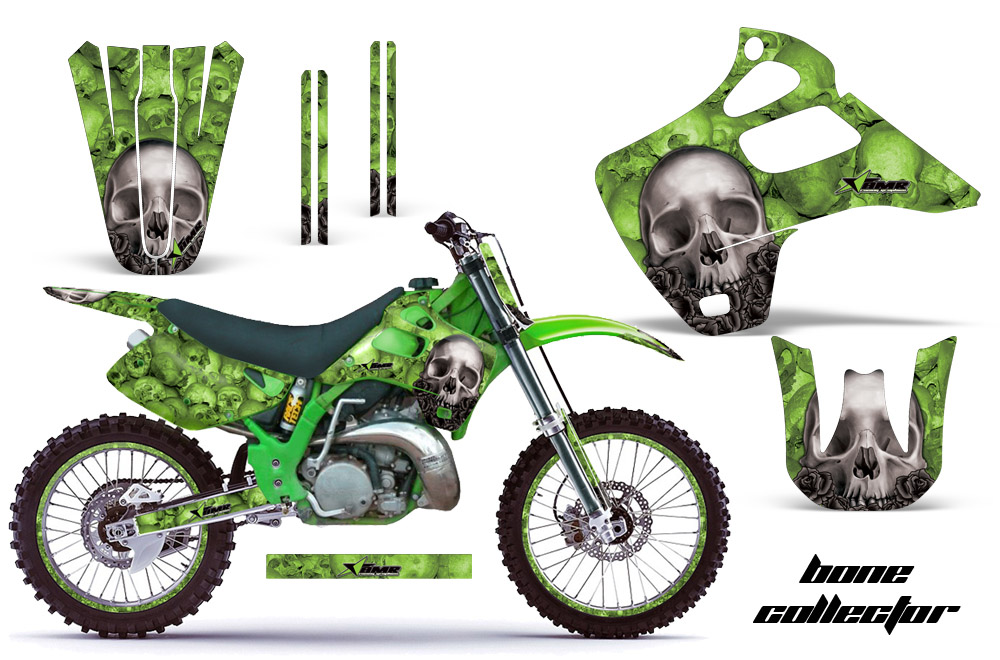 kawasaki 125 wiring diagram 1992 1993 kx125 kx250 graphics kit kawasaki motocross graphic  1992 1993 kx125 kx250 graphics kit