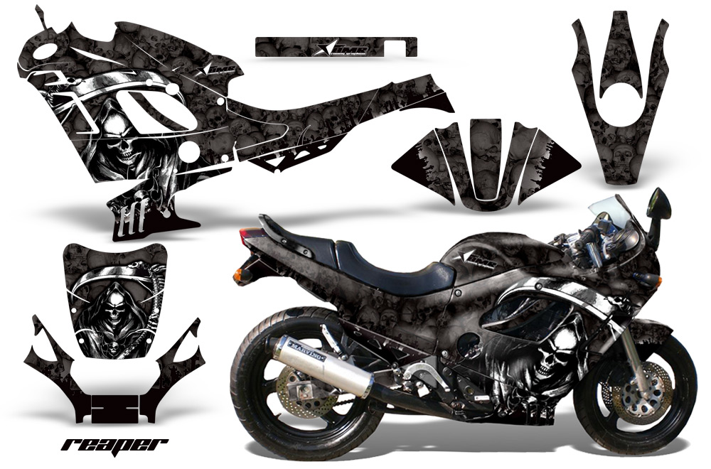 Suzuki Gsxr 600f750f Katana Sport Bike Graphic Kit 1988 1997 442 on yamaha golf cart graphics