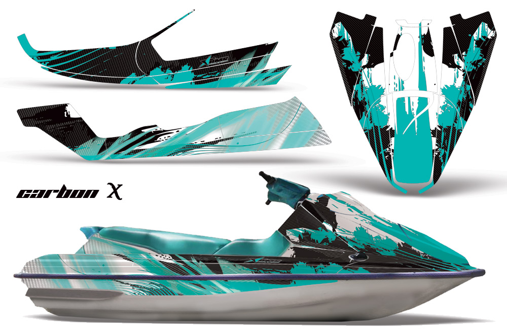 Sea Doo Bombardier Jet Ski Graphic Kit 1992 1997 Over 40 Designs To Choose From
