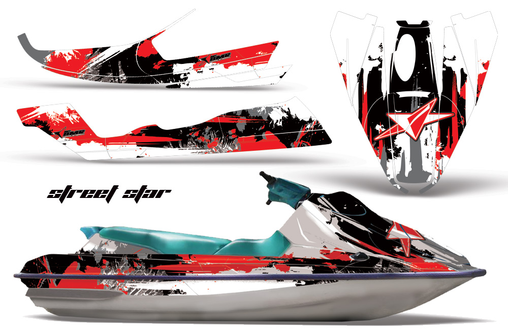 sea doo bombardier jet ski graphic kit 1992 1997 over 40 designs to choose from. Black Bedroom Furniture Sets. Home Design Ideas