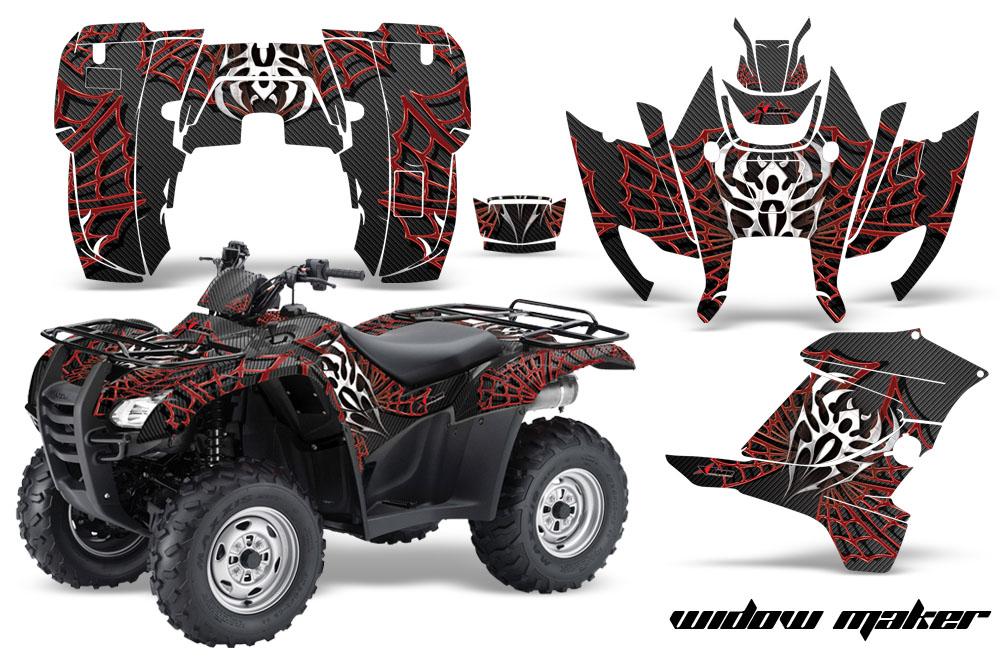 0714 Honda RancherRancher AT atv sticker decal quad graphic kits