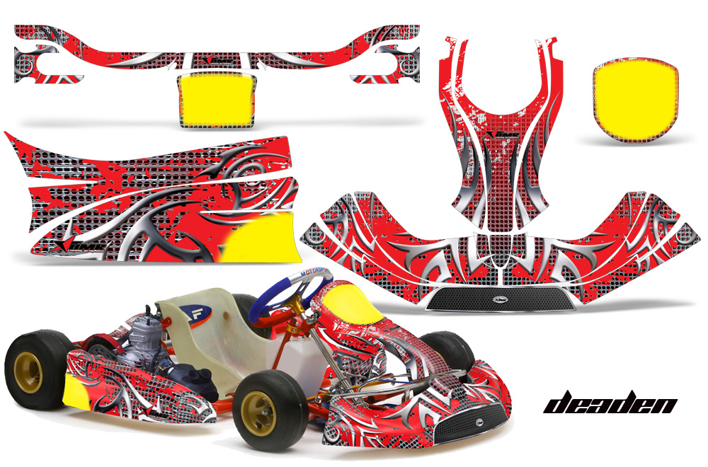 Kg Freeline Birel Kart Graphic Decal Kit 452 on suzuki golf cart
