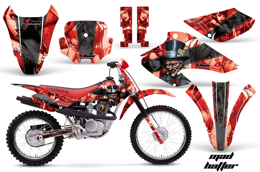 Yamaha Atv Accessories Grizzly Honda XR80/XR100 Motocross Graphic Kits 2001-2003 , Honda MX Decals ...