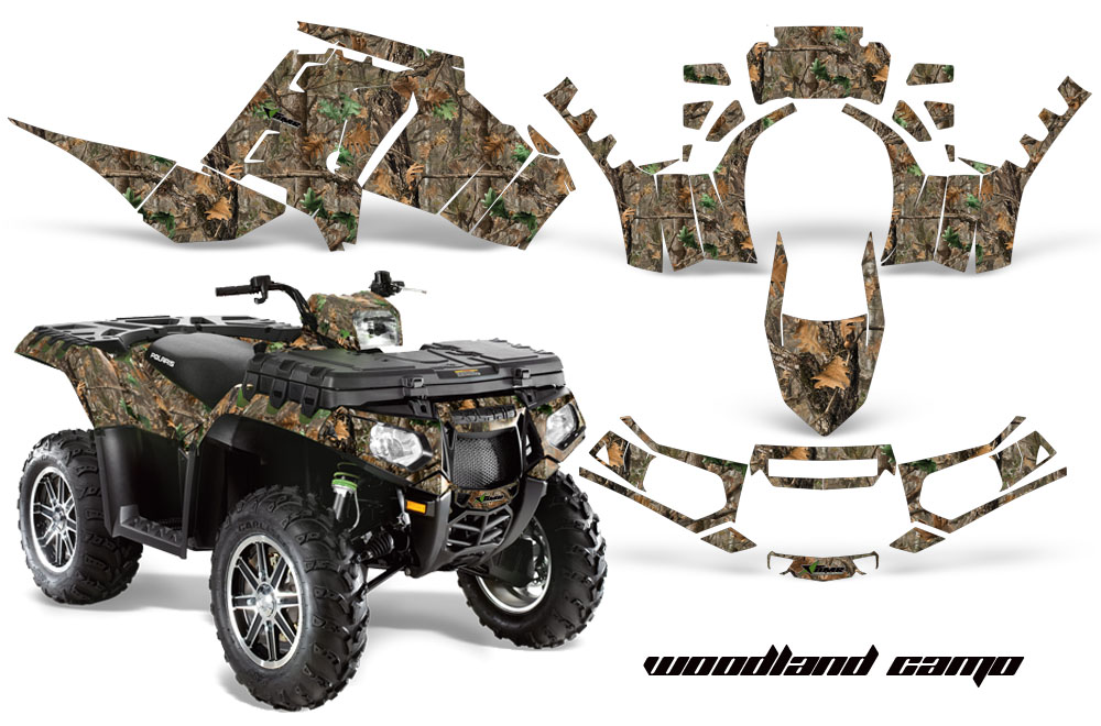 Polaris Sportsman 850 Atv Quad Graphic Kit 2016 By Amr