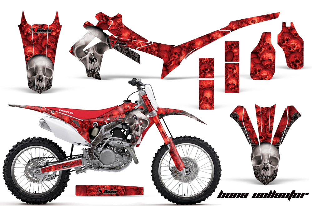 Honda Crf250r Graphic Stickers And Decals Honda