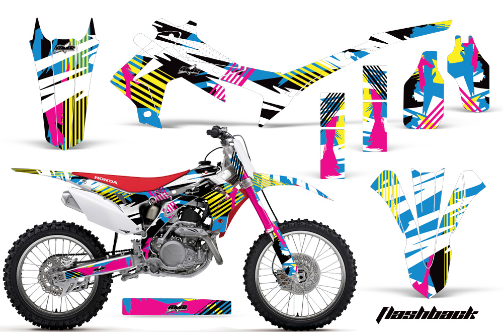 Honda crf250r graphic stickers and decals honda crf250r graphics