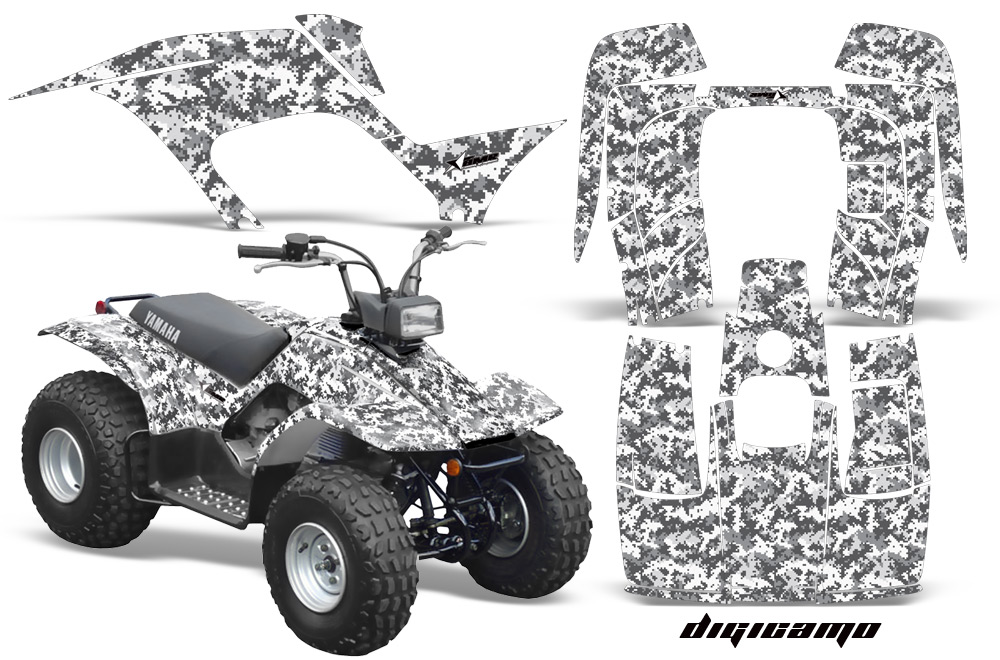 Amr racing graphics manufactures premium decals for the yamaha breeze 125 atv quad choose from over 60 custom designs our graphics are the toughest