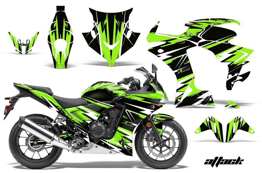 Honda Cbr 500r Sport Bike Graphic Kit 2013 2014
