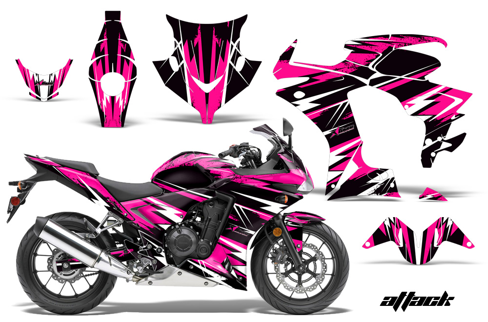 2013 2014 Honda Cbr500r Street Bike Graphic Decal Sticker
