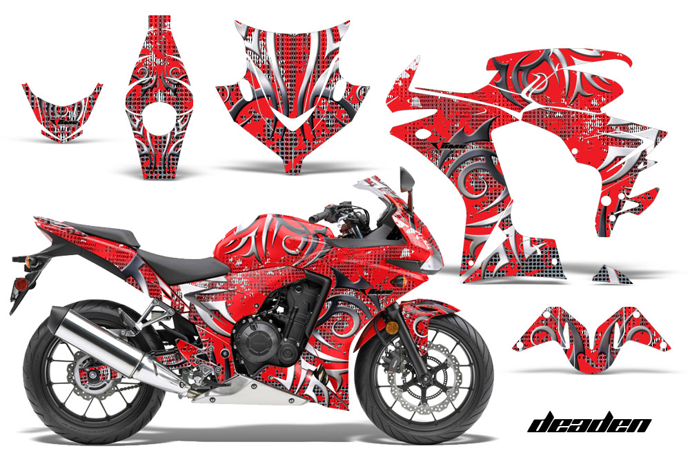 2013 2014 Honda Cbr500r Street Bike Graphic Decal Sticker Kit 13 14