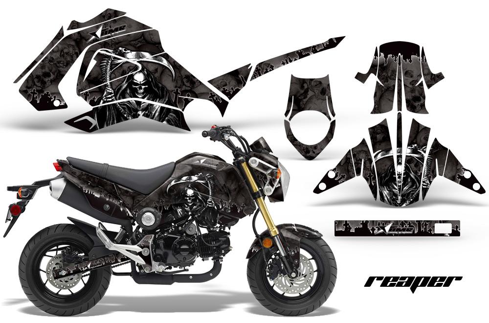 honda grom 125 graphics dirt bike decals honda grom 125 dirtbike graphics. Black Bedroom Furniture Sets. Home Design Ideas