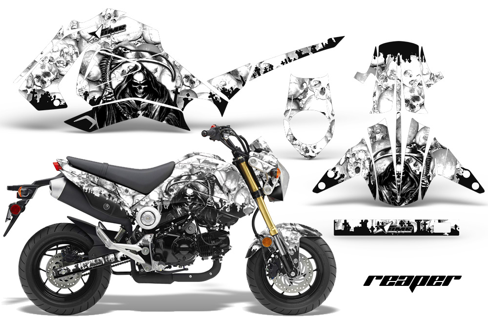 Honda Grom  Graphics Dirt Bike Decals Honda Grom - Decal graphics for motorcycles