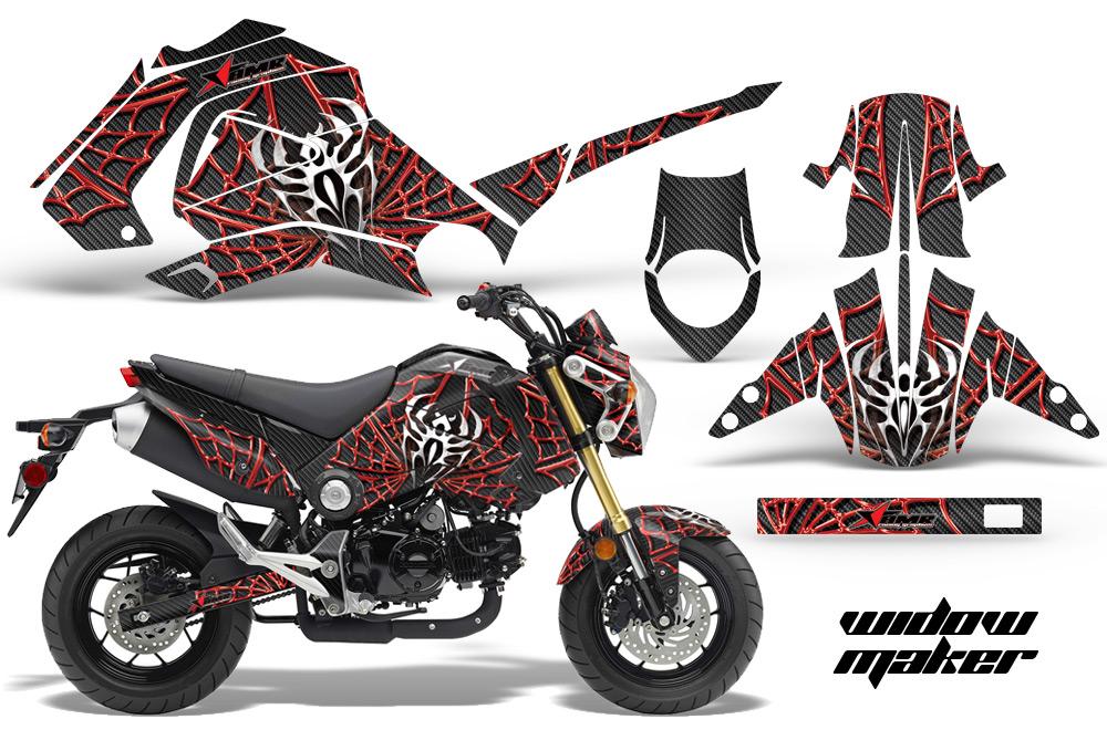 Honda grom 125 graphics dirt bike decals honda grom 125 dirtbike graphics
